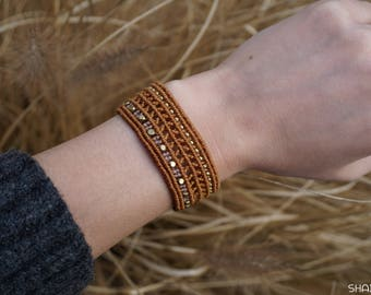 Macrium Bracelet in Orange