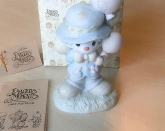 Vintage Precious Moments I Get A Bang Out Of You Figurine 12262