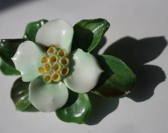 "Vintage Cara China staffordshire england flower 2 1/8"""