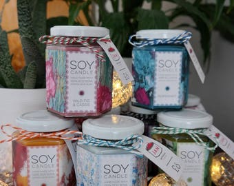 Hand made Soy candles
