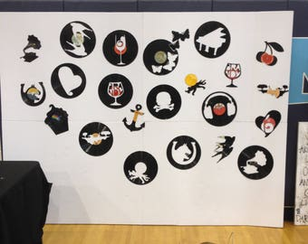 CUSTOM record art
