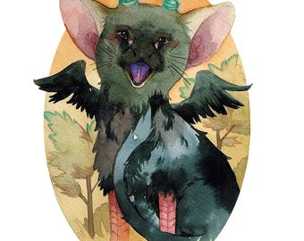 Last Guardian Sticker Trico Cute Sticker