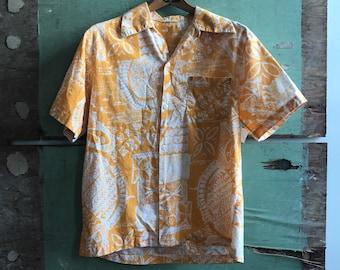 1970's Medium Aloha Shirt