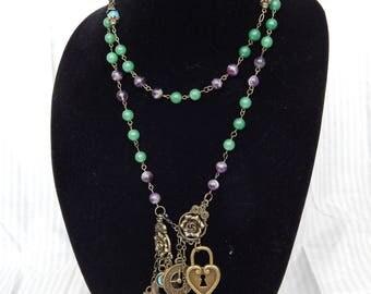 Steampunk Talisman Necklace