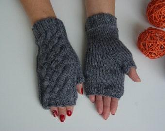 Fingerless mittens, fingerless gloves, wrist warmers, arms warmers