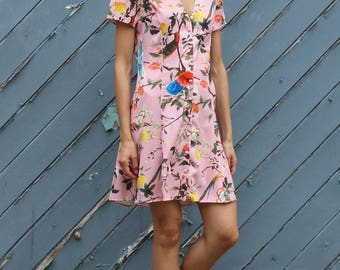 Button Down Summer Dress
