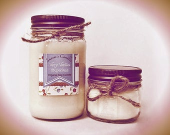 Very Vanilla Cupcakes,organic soy candle, 16oz soy candle,soy candles,rustic soy candle,best soy candle,vegan candle,Desert candle