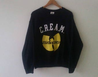"Vintage Wutang ""C.R.E.A.M."" Sweater"