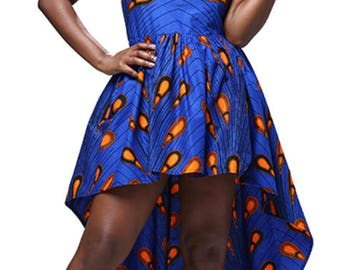 Kemta Blue African Dress