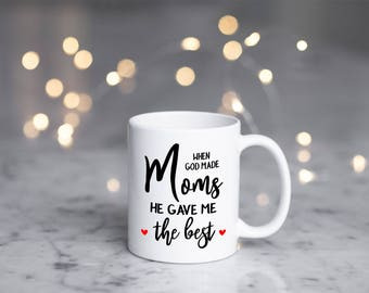 Best Mom Mug, Mom Mug, Mom Coffee Mug, Gift For Mom, Mothers Day Gift, Gift For Mother's Day, Gift For Mother, I Love You Mom Mug, Mom Gift