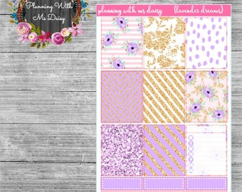 Lavender Dreams Weekly Kit