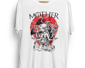 Mother Of Dragons - Men's T-shirt - Men's T-shirt I Tee