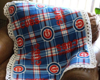 Chicago Cubs Baby, Toddler Blanket