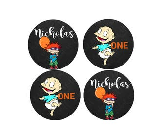 Rugrats Stickers/Labels