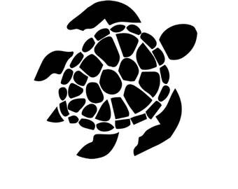 wall SEA turtle - INSTANT DOWNLOAD - Jpg Png Printable Art