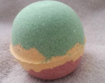 "Bath Bomb  "" Marley "" Bath Bomb, Cannabis Scented, Hippy Chick, For Him, For Her, Luxury Bath Bomb, Relaxing Bath, FREE SHIPPING US"