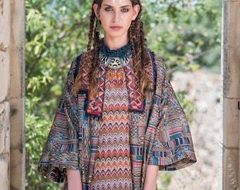 Hippie Boho, Kimono, Unique Fashion, Wearable Art, Boho Style, One Of A Kind, Embriodery Jacket, Tribal Boho, Boho Clothing, Bohemian Chic.