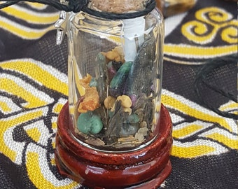 Magic Wicca Spell Sage Jar Wealth