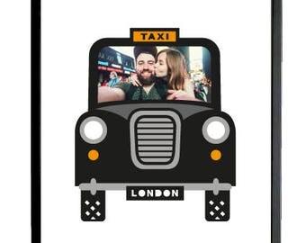 London Taxi Aperture Art