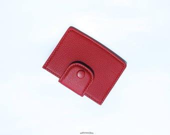 Card Case / 100% HandMade / Leather Wallet / Mini Wallet / Card Holder / Card Wallet / OrderMade