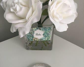 Silver Czech Nylon Fishnet Bracelet
