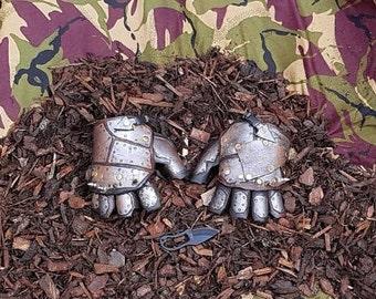 The devastators leather gloves