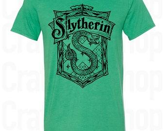 Slytherin Shirt. Harry Potter Slytherin Shirt. Harry Potter Shirt. Slytherin Quidditch. Harry Potter T Shirt. More Colors. S - 3XL.