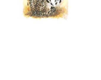 Nimble Leopards Cross Stitch Chart