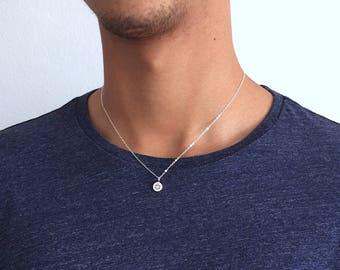 Star of David necklace Men Sterling Silver Star of David pendant Jewish star Mages David Bar Mitzvah gift Long Necklace Bat Mitzvah Necklace