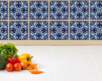 Tiles Stickers Tiles For Stairs Tiles For Kitchen Tiles For Bathroom Tiles  For Fridge Moroccan Ornaments