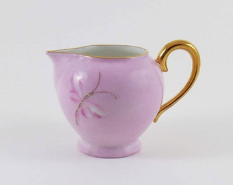 Limoges porcelain Creamer pink