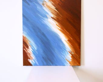 Abstract Acrylic Painting, Canvas Art