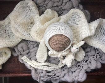 Bunny Bonnet: Newborn