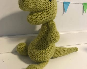 Crocheted T-Rex *Handmade*