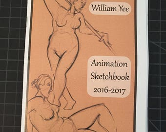 Animation Sketchbook Zine 2016