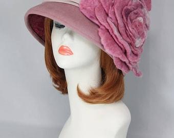 A large rose hat