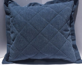 Quilted pillow cover | Etsy : quilted pillow covers - Adamdwight.com