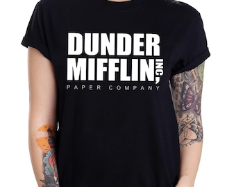 Dunder Mifflin T shirt The Office TV Series Shirt Dunder Mifflin Paper Company t Shirt