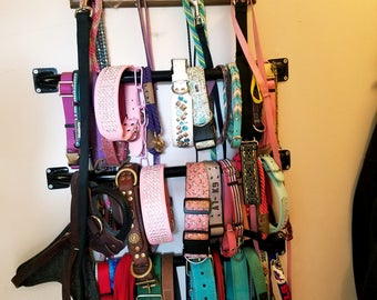 Custom Dog Collar Hanging Rack