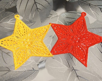 Ornaments Lace Embroidered