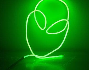 Mini Alien Neon Sign