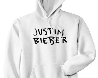 Justin Bieber hoodie | White Hoodie | Bieber Pullover | Pupose tour