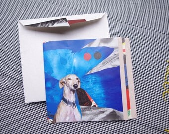 Collage Letter Card: Underwater Doggie & Comp.