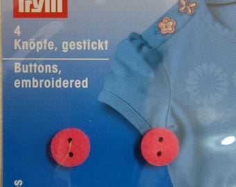 "Embroidered buttons ""Prym Babushka dolls"