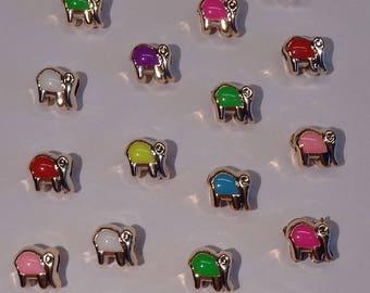 20 beads small elephants