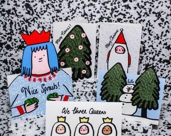 50% OFF HIFFY HOLIDAYS Christmas Card Set