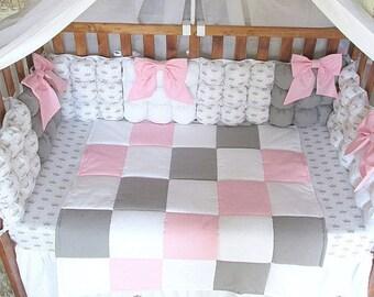 Nursery Bedding Set, Baby Bedding set,