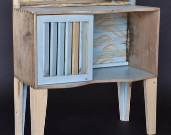 Wind and tide - bedside Cabinet