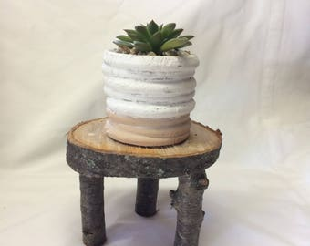 Handcrafted Miniature Cherry Wood Table