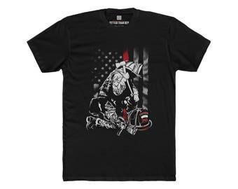Firefighter Thin Red Line  Premium Comfort T-Shirt
